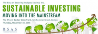 BSAS 3rd Annual Sustainable Investing Seminar