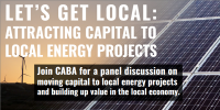 Let's Get Local: Attracting Capital to Local Energy Projects
