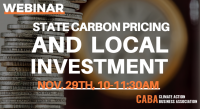 Webinar: Carbon Pricing & Local Investment